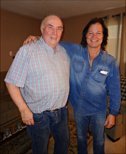 "Uncle ""Rockstar"", John & I / 2015"