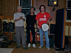 Gary Vollick, Steven Henry, and me