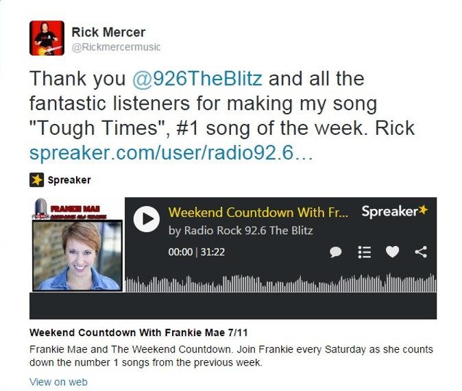 Rick Mercer Music