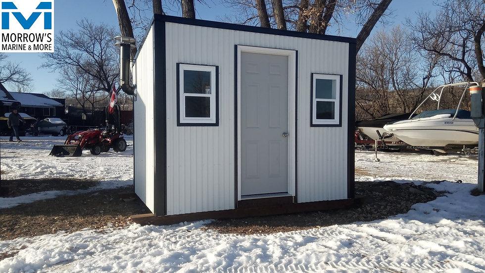 2020 5-Hole Luxury Ice Shacks built by Man's Garage Inc