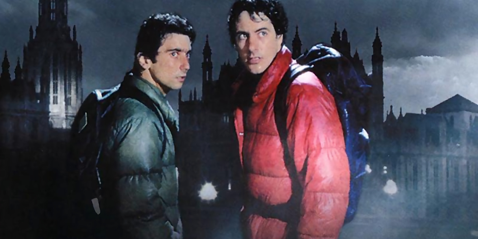 Fright at the Museum! An American Werewolf in London