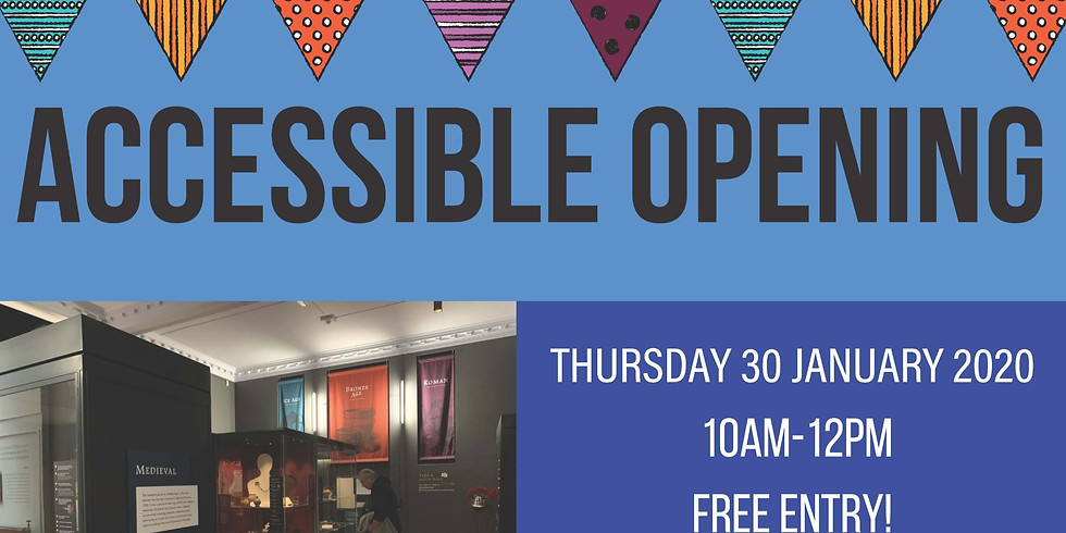 Accessible Opening at Central Museum