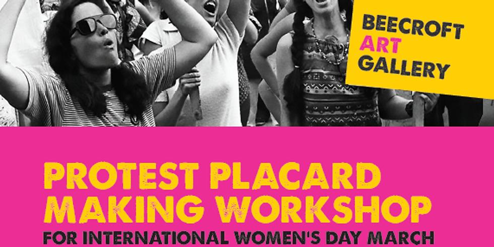 Protest Placard Making Workshop