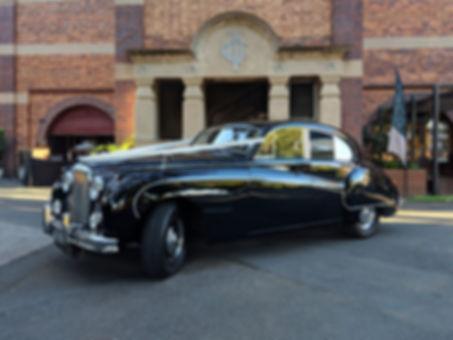1960 Black Mark IX Jaguar