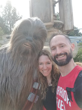 Hanging with Chewie