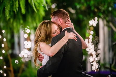 First dance at our wedding