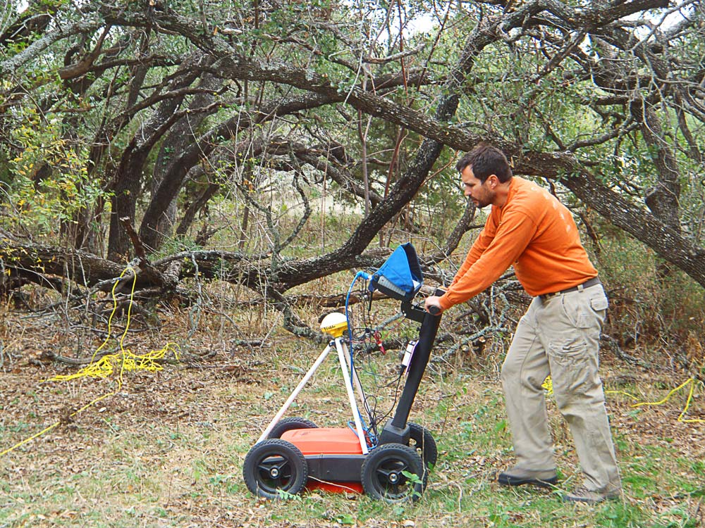 GPR Survey Underway