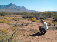 Recording new archaeological sites discovered during survey at White Sands Missile Range, New Mexico