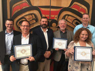 AmaTerra Cultural Resource Staff recognized in NMHPO's 2018 Heritage Organization Award