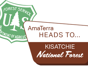 Looking forward to working in the Kisatchie National Forest, Louisiana