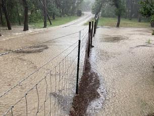When it Rains, it Pours ... overflowing our shores!