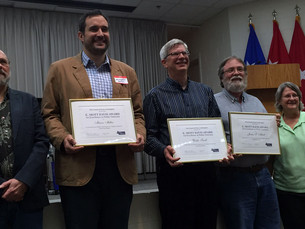 AmaTerra Archeologist, Mason Miller, receives 2015 Council of Texas Archeologists' E. Mott Davis
