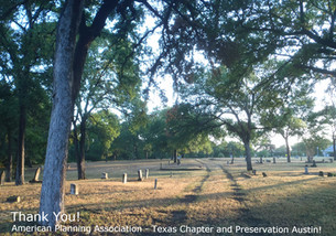 The City of Austin's Historic Cemetery Master Plan Project Wins TWO MORE Awards!