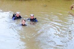 Little Brazos Mussel Survey Crew