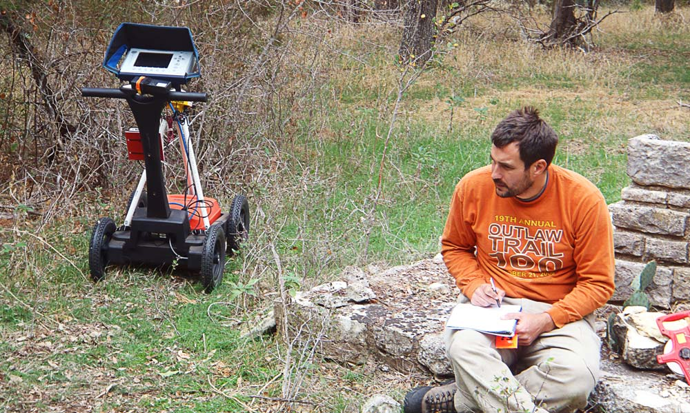 MNSP PI evaluating GPR data