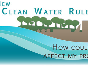 The Clean Water Rule and You...