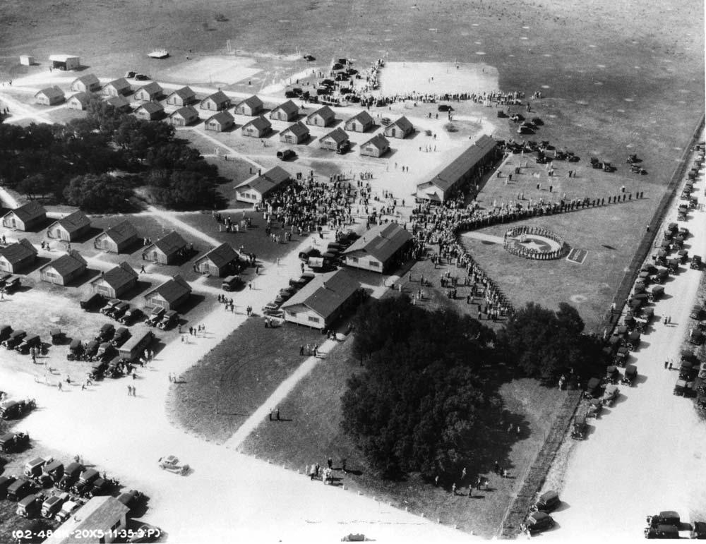 1935 at CCC Camp 817 at MNSP