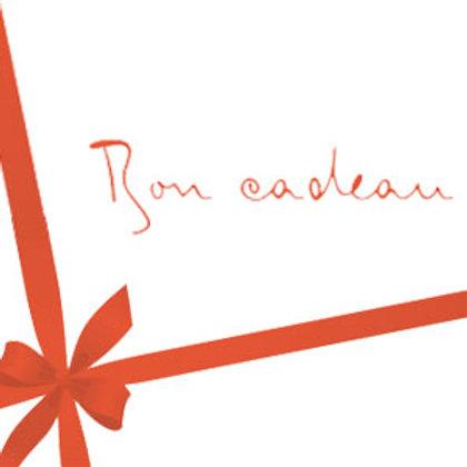 Bon Cadeau à partir de :