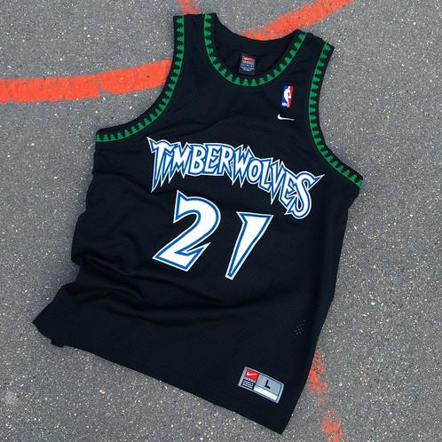 outlet store e6177 43c9e Jersey Nike NBA Timberwolves Retro / Taille : L