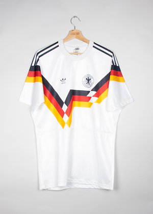 Maillot Adidas Football Allemagne 80s / L