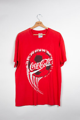 T-Shirt Coca-Cola Football 00s / L