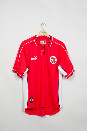 Maillot Puma football Suisse 90s / S