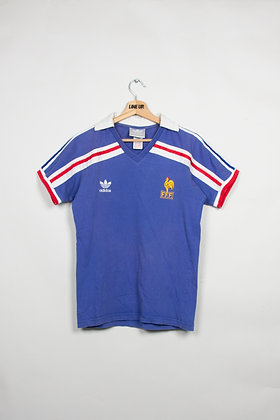 Maillot Adidas Football FFF France 80s / S