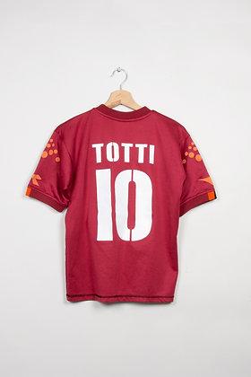 Maillot Diadora Football AS Roma 00s / XS