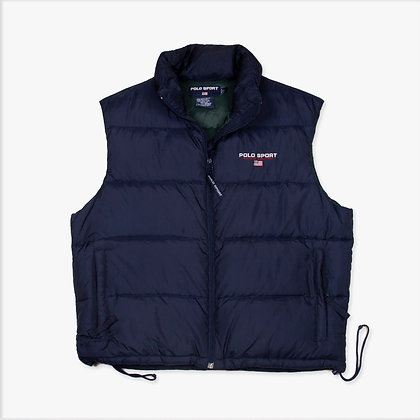 Puffer Jacket Polo Sport By Ralph Lauren Retro / L