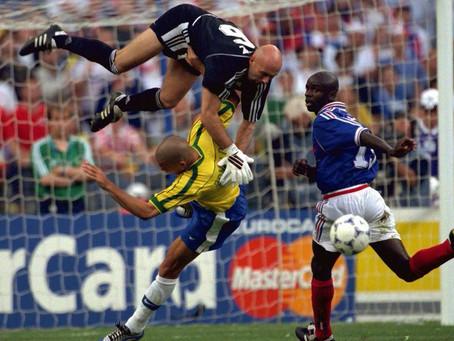 Drop : Football France vs Brasil 1998