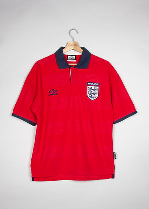 Maillot Umbro Football Angleterre 90s /