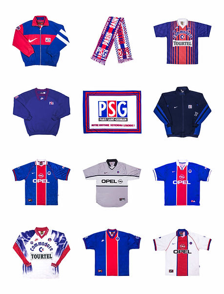 nike psg vintage retro collector 90s maillot jersey nike opel friperie paris