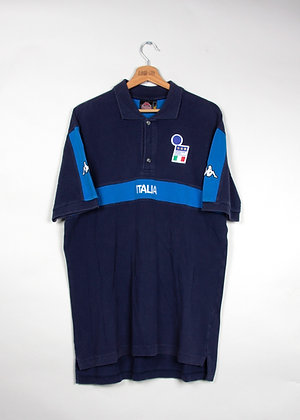 Polo Kappa Football Italie 90s / XL