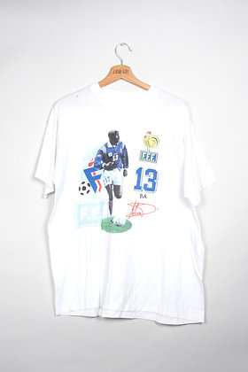 T-Shirt FFF France Football 90s / XL