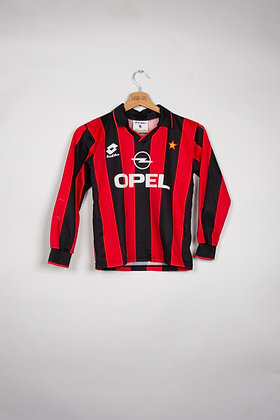 Maillot Lotto Football Milan AC 90s / Enfant