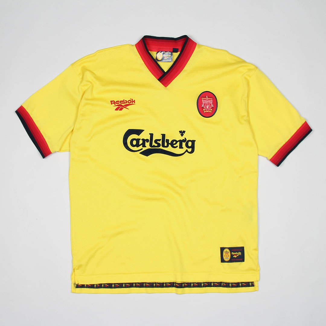 huge discount 32055 35d5a Jersey Liverpool Reebok Football 90s / XL