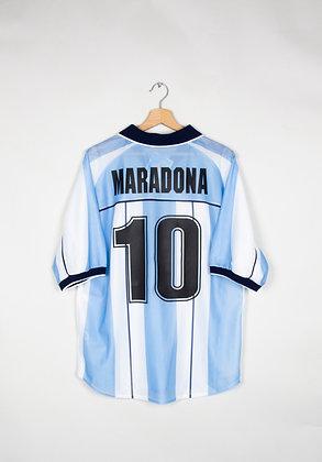 Maillot Reebok Football Argentine 00s / L