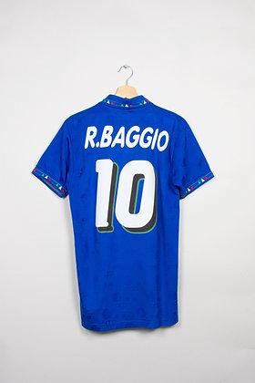 Maillot Diadora Football Italie 90s / L