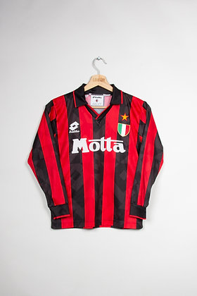 Maillot Lotto Sport Milan AC 90s / M Enfant