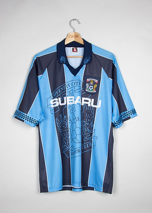 Maillot Football Le Coq Sportif Coventry City 90s / L