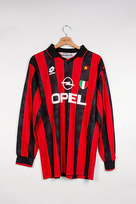 Maillot Lotto Sport Milan AC 90s / XS