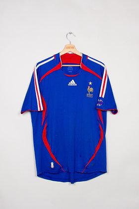 Maillot Adidas Football FFF France 00s / L