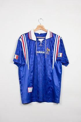 Maillot Adidas Football FFF France 90s / L