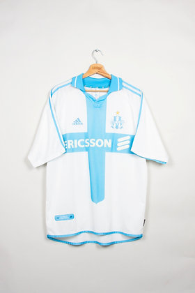 Maillot Adidas Football Olympique de Marseille 00s / L