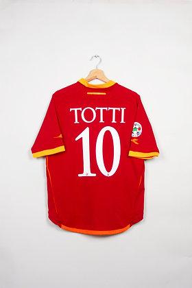 Maillot Diadora Football AS Roma 00s / XL
