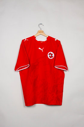 Maillot Puma Football Suisse 00s / L