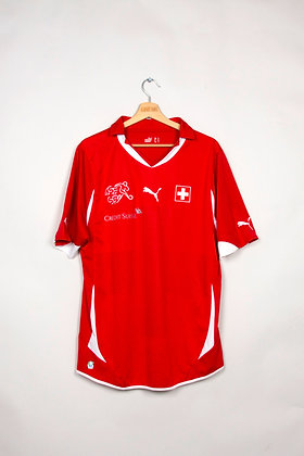 Maillot Puma Football Suisse 00s / L