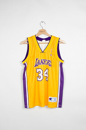 Maillot Champion usa Los Angeles Lakers 00s / XL