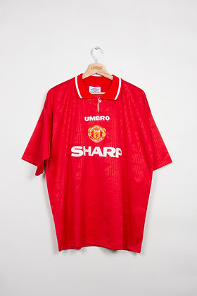Maillot Umbro Football Manchester Utd 90s / L