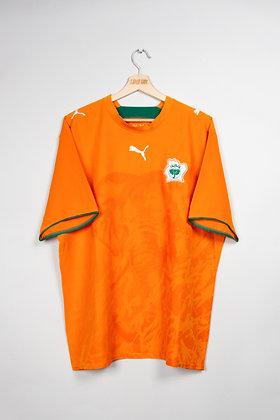 Maillot Puma Football Cote d'Ivoire 00s / XL